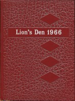 Lion's Den 1966 annual, Princess Margaret Senior Secondary School, Surrey