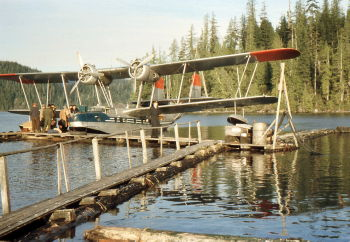 Supermarine Stranraer at Sullivan Bay, BC, 1955