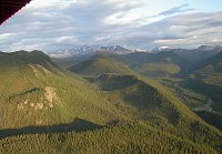 Seeing the wilderness of Canada's yukon Territory from the air