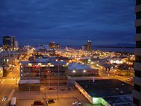 #anc-downtown-night-1072 - Anchorage, Alaska at night