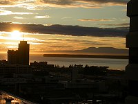 #anc-sunset-1067 - sunset at Anchorage, Alaska