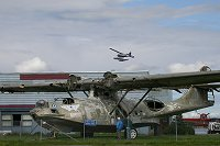 A PBY at the aviation museum in Anchorage.