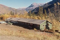 #lythgoe-alcan5 - An early Alcan lodge, converted from a construction camp.