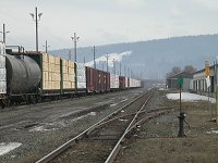#pg-cnrail-5957 - Rail yards in Prince George, British Columbia