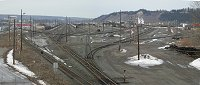 #pg-cnrail-yard-5984 - Nearly-empty rail yards in Prince George, British Columbia
