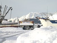 #valdez-boats-fastfreeze-5822 - Boats in the snow at Valdez, Alaska