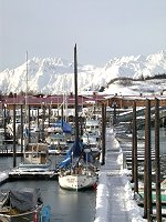 #valdez-harbor-5829 - The small boat harbor at Valdez, Alaska