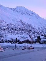 #valdez-harbor-xmasboat-5773 - The small boat harbour at Valdez, Alaska