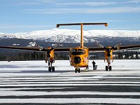 A Search & Rescue Buffalo at Whitehorse